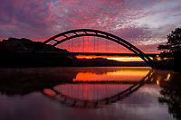 360 Pennybacker Bridge over Lake Austin, Texas (Pennybacker Bridge) Stock Photo Image Gallery