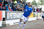 St Johnstone v Dundee…25.08.18…   McDiarmid Park     SPFL<br />Tony Watt celebrates his goal<br />Picture by Graeme Hart. <br />Copyright Perthshire Picture Agency<br />Tel: 01738 623350  Mobile: 07990 594431