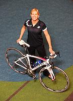 Elite women's individual pursuit world champion Ali Shanks. BikeNZ/SPARC World Champions media session at Sparc Headquarters, Wellington, New Zealand on Wednesday, 2 December 2009. Photo: Dave Lintott / lintottphoto.co.nz