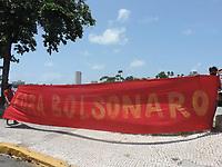 31/03/2021 - PROTESTO CONTRA O GOLPE MILITAR EM RECIFE
