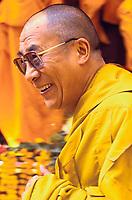 The Dalai Lama at the Kalachakra teachings in Sarnath, India