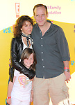 """Jennifer Grey,Clark Greg & daughter at The 12th Annual P.S. ARTS """"Express Yourself 2009"""" To Help Restore Arts Education in Public Schools,The event was  held at Barker Hangar in Santa Monica, California on November 15,2009                                                                   Copyright 2009 DVS / RockinExposures"""