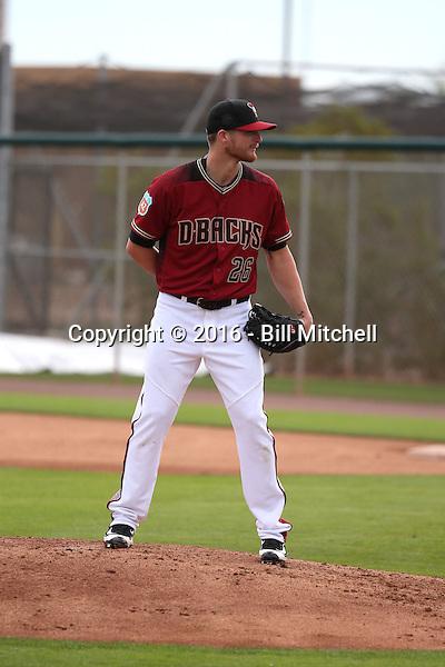 Shelby Miller  - Arizona Diamondbacks 2016 spring training (Bill Mitchell)