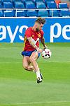 Sergio Ramos during Spain training session at Santiago Bernabeu Stadium in Madrid, Spain September 01, 2017. (ALTERPHOTOS/Borja B.Hojas)