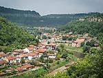 Veliko Tarnovo along the Yantra River, Bulgaria