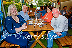Enjoying the evening in Gally's on Friday, l to r: Denise and Willie Guerin, Margaret Dineen and James Russell.