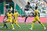 São Paulo (SP), 16/02/2020 - Palmeiras-Mirassol - Gustavo Gómez. Palmeiras e Mirassol, durante partida válida pela sexta rodada do campeonato paulista 2020, no Allianz Parque, zona oeste da capital, na tarde deste domingo (16).