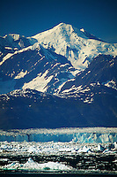 The Columbia Glacier and Columbia Bay from the Alaska State Ferry Aurora, Prince William Sound, Alaska