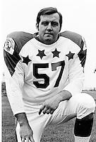 Roy Shazko 1970 Canadian Football League Allstar team. Copyright photograph Ted Grant