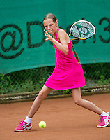 August 4, 2014, Netherlands, Dordrecht, TC Dash 35, Tennis, National Junior Championships, NJK,  Danielle Rieff (NED)<br /> Photo: Tennisimages/Henk Koster