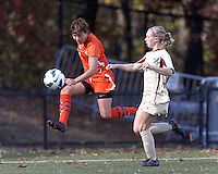 Boston College Women's Soccer vs Miami, October 21, 2012