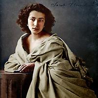 File Photo - Sarah Bernard, photographed by Nadar, circa 1864