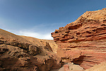 The Red Canyon in Eilat Mountains