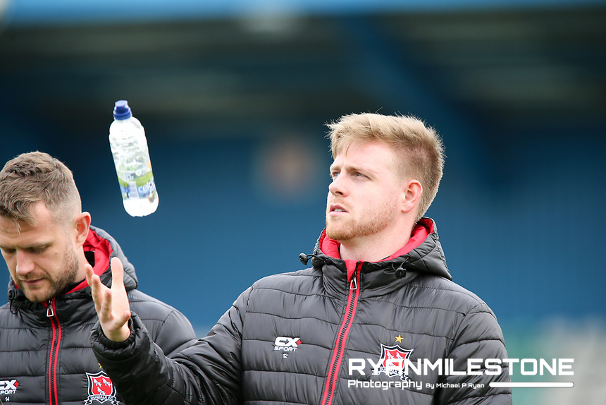 Sam Byrne of Dundalk ahead of the SSE Airtricity League Premier Division game between Waterford FC and Dundalk FC on Friday 4th May 2018 at The RSC, Waterford. Photo By Michael P Ryan