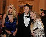 VALERIA MARINI, ROBERTO BOLLE E MARTA MARZOTTO<br /> TEATRO LA SCALA MILANO 2011