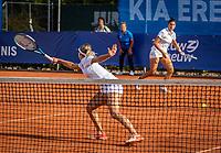 Netherlands, September 12,  2021, Naaldwijk KIA Competition mixed, premier league, LTC Naaldwijk vs TC Leimonias, womans doubles:: Rosalie van der Hoek (NED) and Ivakhnenko (RUS)<br /> Photo: Henk Koster/tennisimages.com