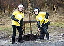 ::  HELIX PROJECT ::  GREEN TEAM MEMBERS KIMBERLY WADDELL AND ALEX KIDD HELP LAUNCH THE START OF THE £43 MILLION LAND TRANSFORMATION PROJECT ::.