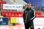 St Johnstone Training...21.05.21<br />Manager Callum Davidson pictured during training at McDiarmid Park this morning ahead of tomorrow's Scottish Cup Final against Hibs.<br />Picture by Graeme Hart.<br />Copyright Perthshire Picture Agency<br />Tel: 01738 623350  Mobile: 07990 594431
