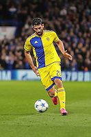 Omri Ben Harush of Maccabi Tel-Aviv during the UEFA Champions League match between Chelsea and Maccabi Tel Aviv at Stamford Bridge, London, England on 16 September 2015. Photo by David Horn.