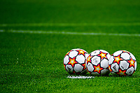 Adidas official balls of the match are seen during the Uefa Champions League group B football match between AC Milan and Atletico Madrid at San Siro stadium in Milano (Italy), September 28th, 2021. Photo Andrea Staccioli / Insidefoto