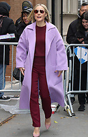 NEW YORK, NY- November 12: Kristen Bell seen at The View promoting Disney's Frozen 2 on November 12, 2019 in New York City. Credit: RW/MediaPunch