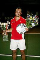 20-08-2006, Amsterdam, NK Tennis, Paul Logtens wint het NK