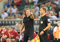 goalwart Manuel NEUER (M), gesture, gesture, soccer 1st Bundesliga, 1st matchday, Borussia Monchengladbach (MG) - FC Bayern Munich (M) 1: 1, on August 13th, 2021 in Borussia Monchengladbach / Germany. #DFL regulations prohibit any use of photographs as image sequences and / or quasi-video # Â