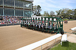 April 11, 2015: 3rd race at Oaklawn Park in Hot Springs, AR on Derby Day. Justin Manning/ESW/CSM