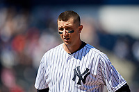 New York Yankees shortstop Troy Tulowitzki (12) during a Grapefruit League Spring Training game against the Toronto Blue Jays on February 25, 2019 at George M. Steinbrenner Field in Tampa, Florida.  Yankees defeated the Blue Jays 3-0.  (Mike Janes/Four Seam Images)