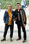 Japanese director Takashi Miike and the director of the festival Angel Sala visit the festival with his work team preparing a new work in Spain during Festival de Cine Fantastico de Sitges in Barcelona. October 12, Spain. 2016. (ALTERPHOTOS/BorjaB.Hojas)