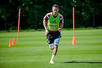 Thursday 24 July 2014<br /> Pictured: Gylfi Sigurosson<br /> Re: Swansea City Training at Fairwood