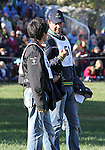 Ruy Fonseca of Brazil & Yoshiaki Oiwa of Japan discuss the cross country course before the cross country phase of the FEI  World Eventing Championship at the Alltech World Equestrian Games in Lexington, Kentucky.