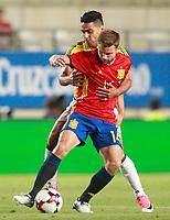 Spain's Asier Illarramendi (r) and Colombia's Radamel Falcao during international friendly match. June 7,2017.(ALTERPHOTOS/Acero) (NortePhoto.com) (NortePhoto.com)