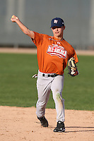 January 16, 2010:  Robert (Rob) Slagel (Rowlett, TX) of the Baseball Factory Texas Team during the 2010 Under Armour Pre-Season All-America Tournament at Kino Sports Complex in Tucson, AZ.  Photo By Mike Janes/Four Seam Images