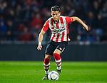 Nederland, Eindhoven, 27 oktober 2015<br /> KNVB Beker<br /> Seizoen 2015-2016<br /> PSV-Genemuiden<br /> Hector Moreno van PSV in actie met bal