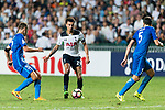 Tottenham Hotspur Midfielder Dele Alli (C) in action during the Friendly match between Kitchee SC and Tottenham Hotspur FC at Hong Kong Stadium on May 26, 2017 in So Kon Po, Hong Kong. Photo by Man yuen Li  / Power Sport Images