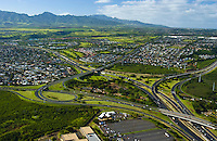 Central Oahu, H-1/H-2 Freeways