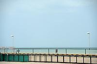 RIOHACHA -COLOMBIA. 30-05-2014. Muelle turístico de Riohacha capital del Departamento de la Guajira, Colombia. / Tourist wharf of Riohacha capital of the deparment of Guajira, Colombia. Photo: VizzorImage/ Gabriel Aponte / Staff