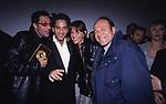CARLO VERDONE CON BEPPE  E ROSARIO FIORELLO  E SUSANNA BIONDO<br /> INAUGURAZIONE MULTISALA CINEMA ADRIANO ROMA 2000
