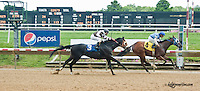 The Admiral'sflank winning at Delaware Park on 7/13/13