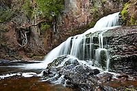 """""""Silken Waterfall""""<br /> <br /> A silken waterfall cascades into the winding Kadunce River."""