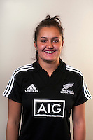 Huia Harding. New Zealand Black Ferns headshots at The Rugby Institute, Palmerston North, New Zealand on Thursday, 28 May 2015. Photo: Dave Lintott / lintottphoto.co.nz