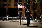 On April 29th, 2006 thousands of anti-war protesters rallied at Union Square in Manhattan and marched down Broadway to show their anger at the Bush administration for the continuing war in Iraq.. Hugh R. Bruce, webmaster for Veterans for Peace.