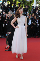 Louise Bourgoin .Cannes 17/5/2013 .Festival del Cinema di Cannes .Foto Panoramic / Insidefoto .ITALY ONLY