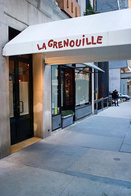 La Grenouille Restaurant, New York, New York