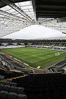 Pictured: A general view of the Liberty Stadium home to Swansea City<br />