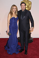12 July 2020 - Actress and wife of John Travolta Kelly Preston dead at age 57 from breast cancer.22 February 2015 - Hollywood, California - Kelly Preston, John Travolta. 87th Annual Academy Awards presented by the Academy of Motion Picture Arts and Sciences held at the Dolby Theatre. Photo Credit: AdMedia
