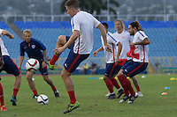Port of Spain, Trinidad and Tobago - Monday, November 16, 2015: The U.S. Men's National team train in preparation for their 2018 World Cup Qualifying match versus Trinidad & Tobago at Hasely Crawford Stadium.