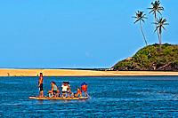Praia na Barra de Camaratuba. Paraiba. 2015. Foto de Kleide Teixeira.