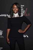 Aja Naomi King @ the 'How To Get Away With Murder' Season 3 Premiere held @ the Grove Pacific theatre. September 20, 2016